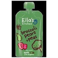 Ella's Kitchen Broccoli, Pears & Peas - 7 pk