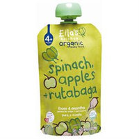 Ella's Kitchen Spinach, Apple & Rutabaga - 7 pk