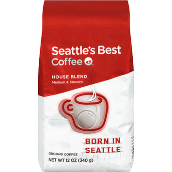 Seattle's Best Coffee Ground Coffee Beverage, House Blend, 12 oz