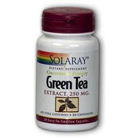 Solaray Green Tea Extract - 250 mg - 30 Capsules