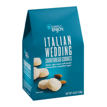 Simply Enjoy Italian Wedding Shortbread Cookies