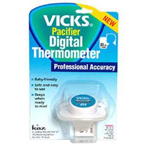 Kaz Inc. Vicks Pacifier Thermometer