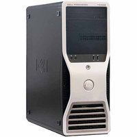 Dell Refurbished Black T5400 Desktop PC with Intel Quad-Core Xeon Processor, 4GB Memory, 250GB Hard Drive and Windows 7 Professional (Monitor Not Included)