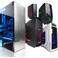 CYBERPOWER PC 'Build Your Own' Gaming Desktop Bundle - Select Processor, Case, Memory, Hard Drive, and more