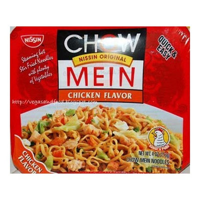 Nissin Chow Mein Chicken Flavor Soup - 8 Pack