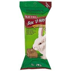 Kaytee Products Inc - Box O Hay- Apple Sticks .5 Ounce