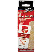 Handy Solutions First Aid Kit/antibiotic Ointment & Bandages, 11 pc Packages (Pack of 24)