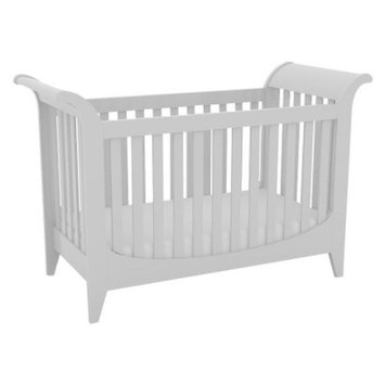 Lolly & Me Taylor 3-in-1 Convertible Crib - Creamy White