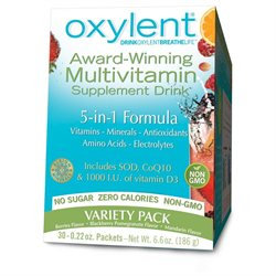 Oxylent - Oxygenate Multivitamin Drink Variety Pack - 30 Packets