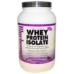Bluebonnet Nutrition - Whey Protein Isolate Natural Strawberry Flavor - 2 lbs.