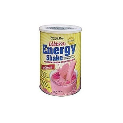 Nature's Plus Ultra Energy Shake Exotic Red Fruit - 0.86 lb