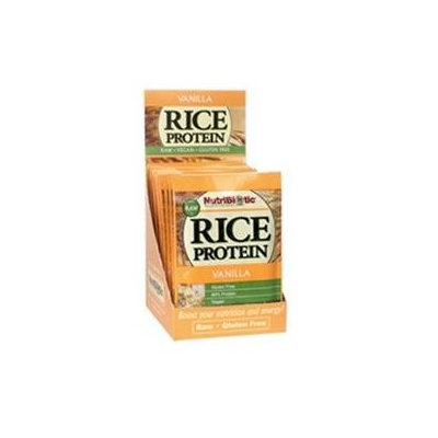 Nutribiotic - Organic Rice Protein Vanilla - 12 Packets