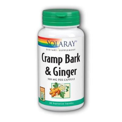 Cramp Bark & Ginger Solaray 60 VCaps