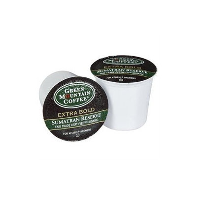 Green Mountain Coffee Fair Trade Organic Sumatran Reserve, Keurig K-Cups, 24 ct, 2 pk