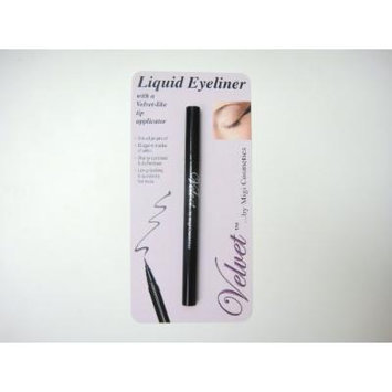 VELVET LIQUID EYE LINER PEN WITH MIXING BALL FOR SMOOTH PRECISE COLOR APPLICATION - COLOR BROWN