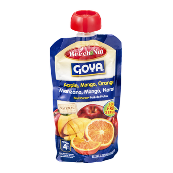 Beech-Nut® Stage 4 Goya Apple, Mango, Orange Fruit Puree