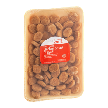 Guaranteed Value Chicken Breast Nuggets Fully Cooked