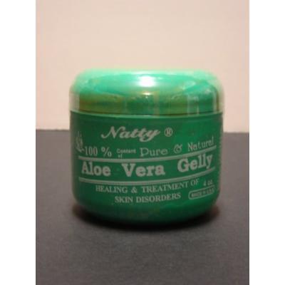 Natty 100% Aloe Vera Gelly 4oz