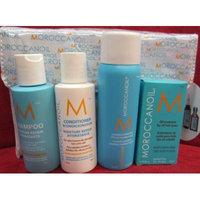 Moroccanoil Travel Kit (Includes 2.4 oz Shampoo & Conditioner,Luminous Hairspray,85 Oil Treatment, Travel Bag