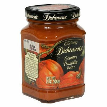 Dickinson's Fruit Butters, Country Pumpkin, 9-Ounce Jar