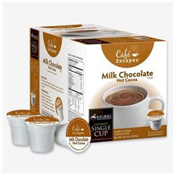 Cafe Escapes Hot Cocoa K-Cups for Keurig Brewers (Pack of 96)