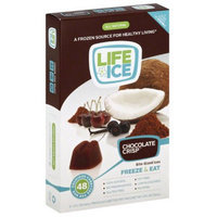 Lifeice Life Ice Chocolate Crisp Flavored Ices, 4 fl oz, (Pack of 6)
