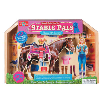Shure Stable Pals: BECCAand Shadow Magnetic Dress Ups