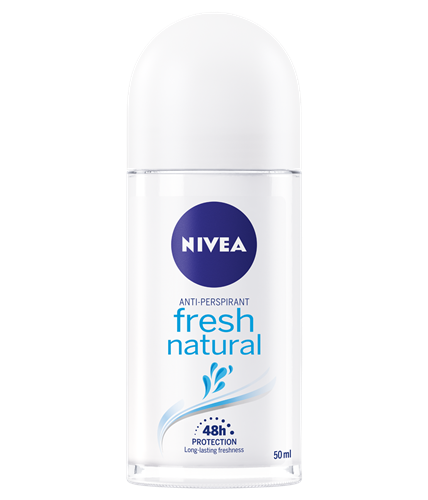 NIVEA Fresh Natural Anti-Perspirant Deodorant Roll On