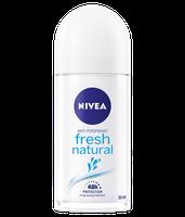 NIVEA Fresh Natural Anti-Perspirant Deodorant Roll On