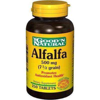 Good 'N Natural Good N Natural - Alfalfa 500 mg (7-1/2 grain) - 250 Tablet