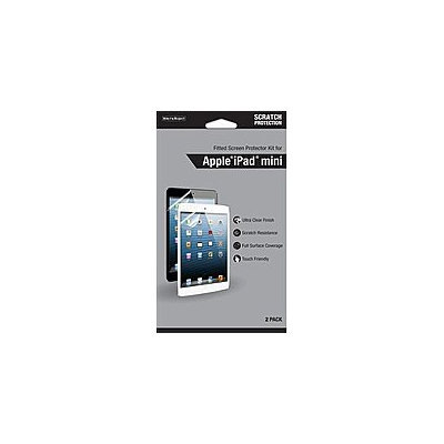 WriteRight CRC93034 870839 Fitted Screen Protector Kit for Apple iPad mini - 2 Pack