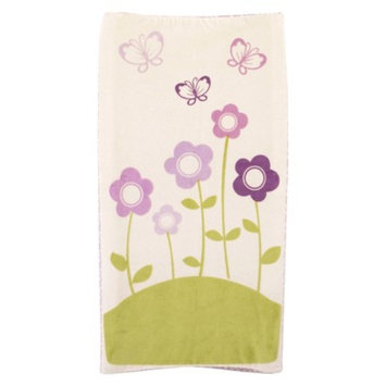 CoCaLo Baby CoCaLo Plushy Butterfly Floral Changing Pad Cover