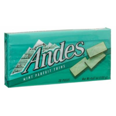 Andes Mint Parfait Thins, 4.67-Ounce Packages (Pack of 12)