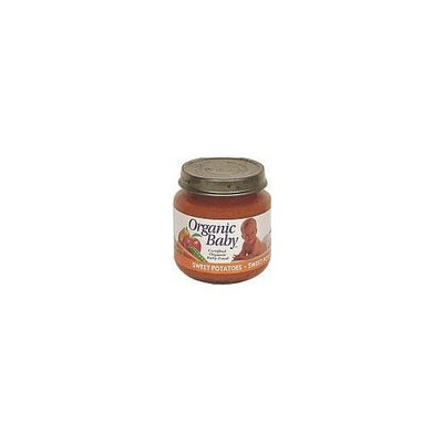 Organic Baby Organic Baby Food, Sweet Potatoes, 4-Ounce Jars (Pack of 24)