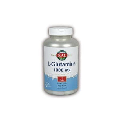 KAL L-Glutamine 1000 MG - 100 Tablets - Glutamine