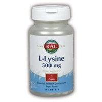 KAL L-Lysine 500 MG - 50 Capsules - Lysine