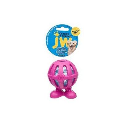 JW Pet Company Crackle Heads Cuz Dog Toy Medium