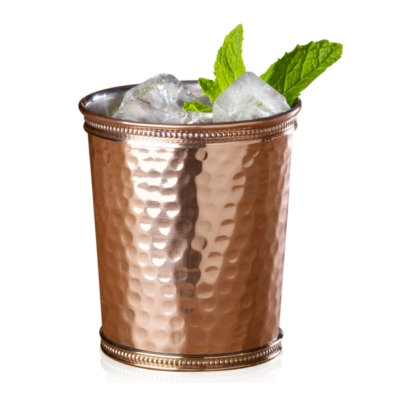 Kitchenaid Mikasa Copper Hammered Mint Julep Cup - 12 Oz - Copper Brass (5142333)