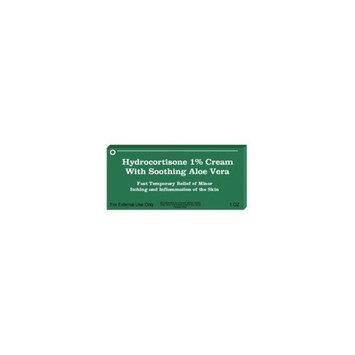Actavis Mid Atlantic Hydrocortisone 1 Percent Maximum Strength Anti-Itch Ointment With Aloe Vera , Pegable - 1 Oz