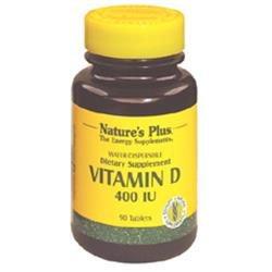Nature's Plus Vitamin D 400iu Water-dispersible Tablets