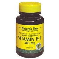 Nature's Plus Vitamin B-1 300 MG - 90 Tablets - Vitamin B-1
