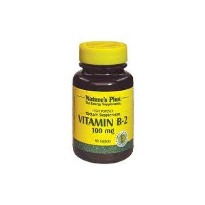 Nature's Plus B-2 100 MG - 90 Tablets - Vitamin B-2