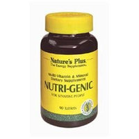 Nature's Plus Nutri-Genic - 90 Tablets - Multivitamins with Iron