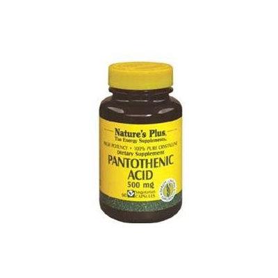 Nature's Plus Pantothenic Acid 500 MG - 60 Capsules - Pantethine