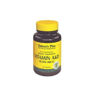 Nature's Plus Vitamin A and D - 90 Tablets