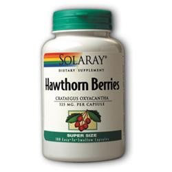 Solaray - Hawthorn Berries, 180 capsules [Health and Beauty]