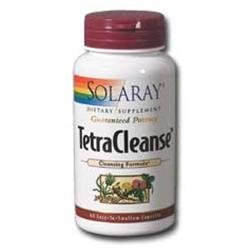 Solaray Tetra Cleanse - 60 Capsules - Intestinal/Colon Support