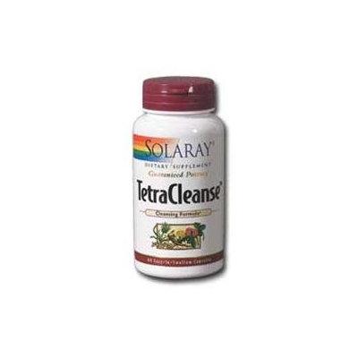 Solaray Tetra Cleanse - 60 Capsules - Intestinal/Colon Support