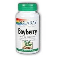 Solaray Bayberry 475 MG - 100 Capsules - Other Herbs