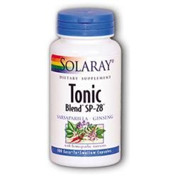 Solaray Tonic Blend SP-28 - 100 Capsules